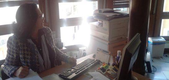 Juana Pérez, presidenta de la Federación Murciana de Asociaciones de Amas de Casa, Consumidores y Usuarios (Thader Consumo)