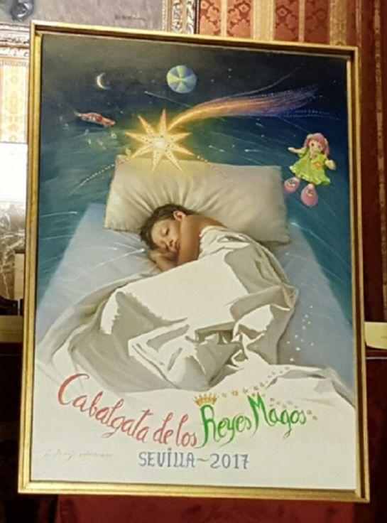Cabalgata de reyes magos de sevilla presentado el cartel for Cabalgata ciudad jardin sevilla 2016