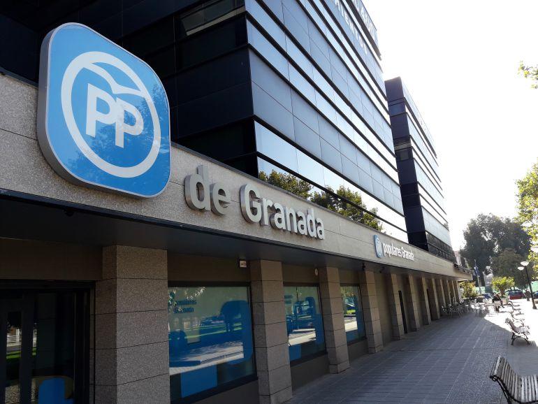 Sede del PP de Granada.