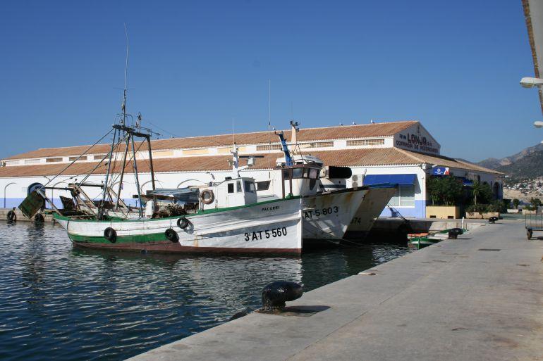 Puerto pesquero de Calp.