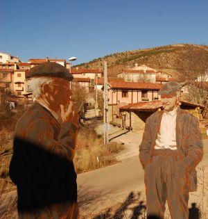 Cuenca: El mundo rural olvidado cobra vida en el paisaje ilustrado de Valdemeca