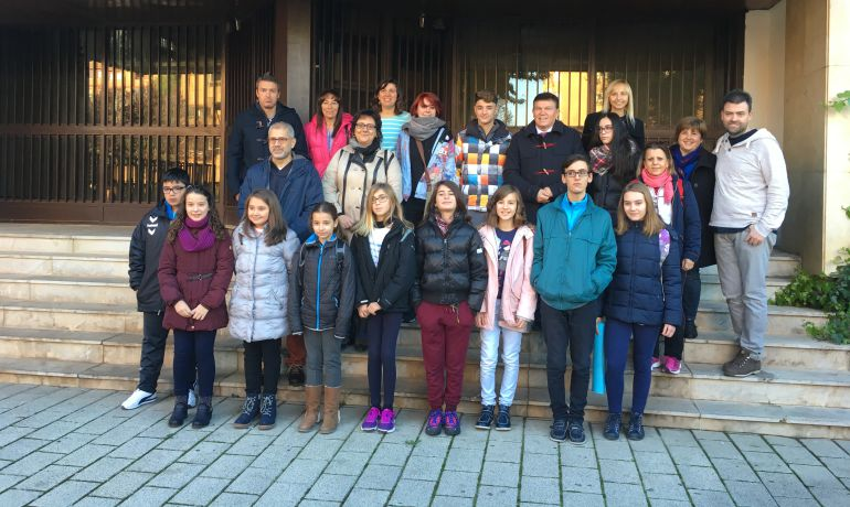 Catorce alumnos participan en Logroño en un encuentro de Medio Ambiente
