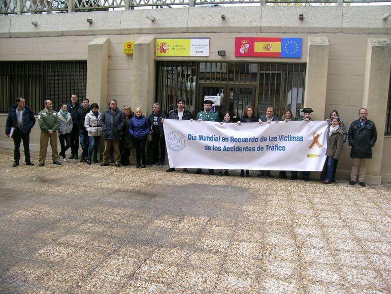 La jefatura provincial de tr fico recuerda a las v ctimas - Jefatura provincial de trafico madrid ...