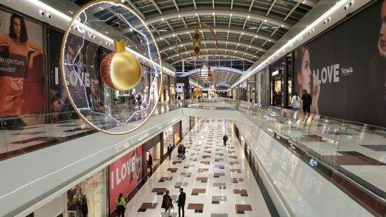 En 3 39 te ense amos la amplitud y el lujo del nuevo centro - Centro comercial serrallo granada ...