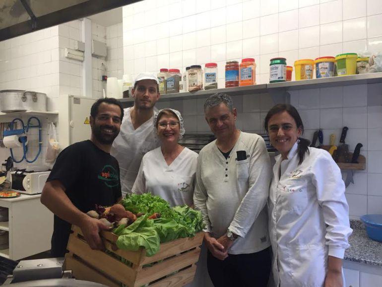 M s de escolares de las marinas se benefician del proyecto comedores escolares ecol gicos - Comedores escolares barcelona ...