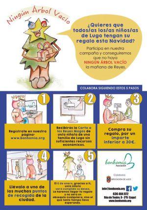 Regalos navidad Lugo:: ¡Súmate! No queremos ningún árbol vacío el día de reyes en Lugo