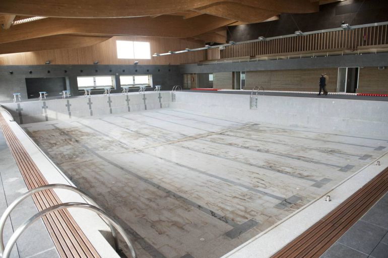 Condenado el consorcio de infraestructuras deportivas al for Piscina colindres