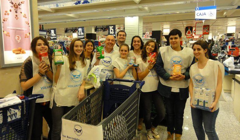 225 supermercados del sur de madrid participan en la gran recogida