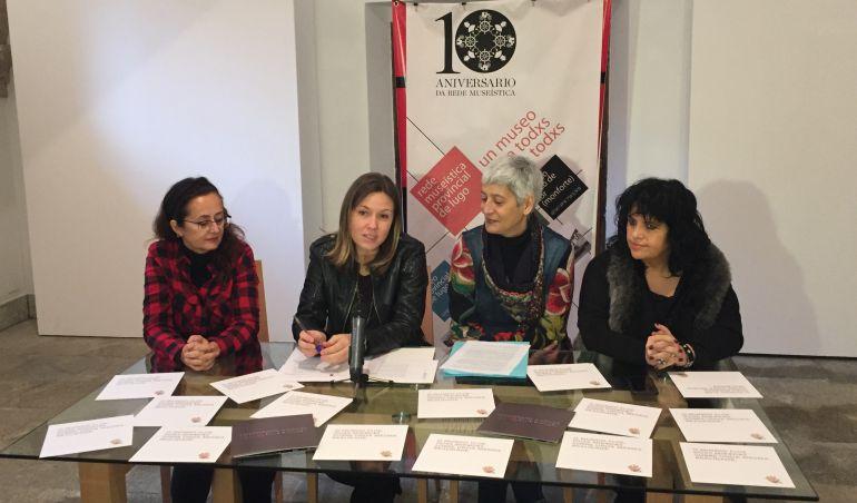 """Presentación de la exposición """"O mundo flúe"""" en el Museo Provincial de Lugo"""