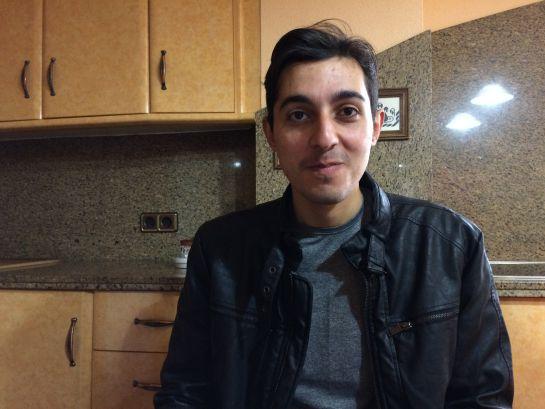 Abdulwahed Homsi ilusionado con comenzar a trabajar en su nueva empresa