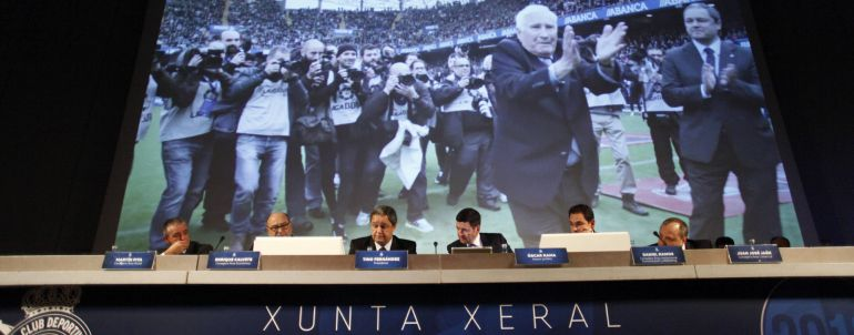Junta de Accionistas del Deportivo