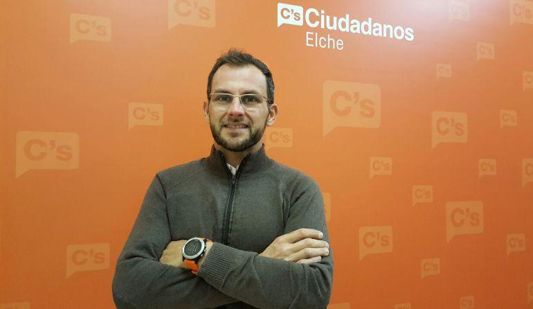 Juan Antonio Sempere, concejal de Ciudadanos Elche