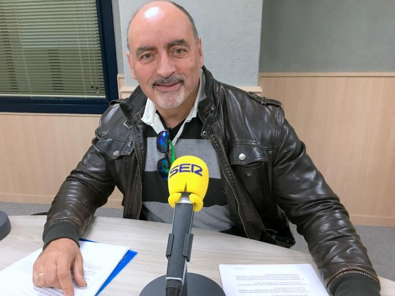 Juan Carlos Pastor, director de Cáritas Interparroquial Elda, en Radio Elda SER
