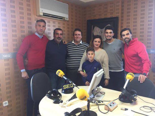 Los jugadores del Atlético de Madrid y el Espanyol reciben a Joselete