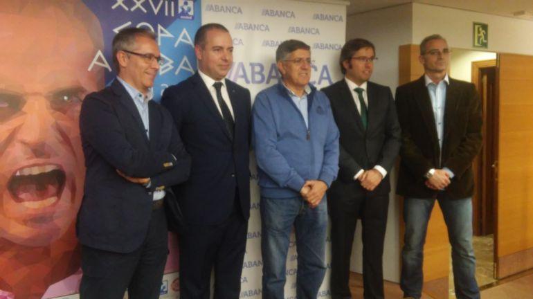 La Copa Asobal ha sido presentada en las instalaciones de ABANCA
