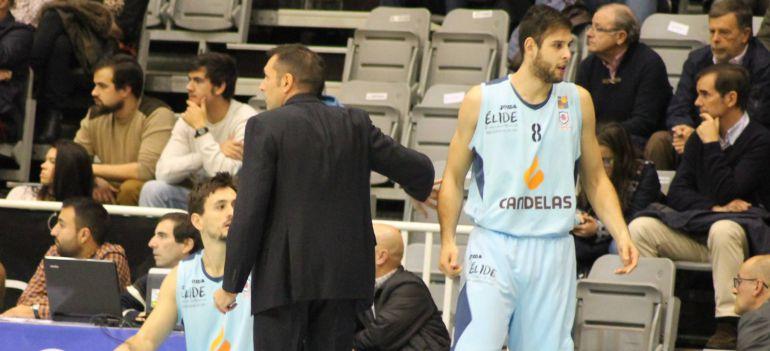 Iván Cruz junto a Natxo Lezkano