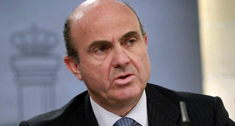 El ministro de Economía es Luis de Guindos