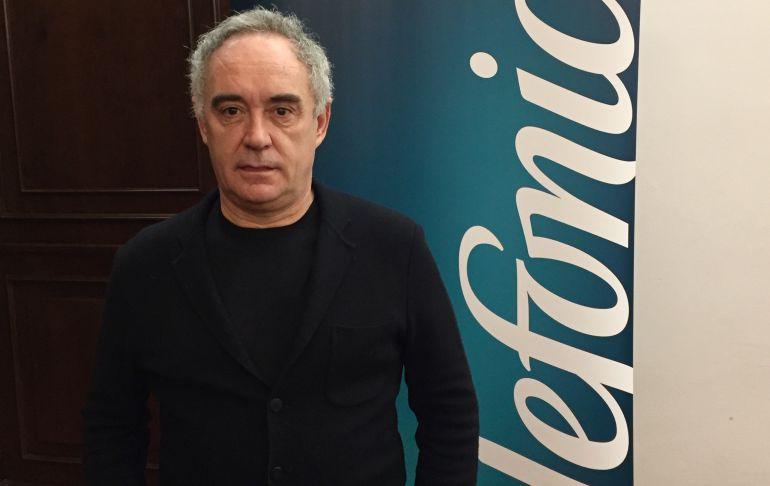 """Ferran Adrià: """"Antes entrar en la cocina era de nenas"""""""