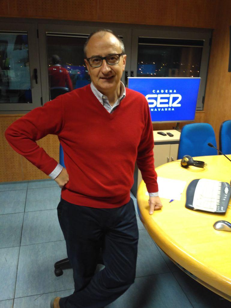 Goyo Sanzol, socio e impulsor de la spin off Pentabiol