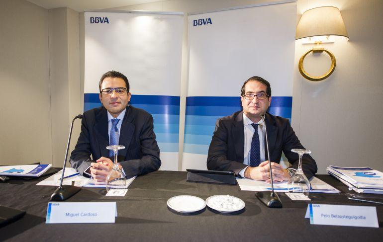 Presentación del informe BBVA