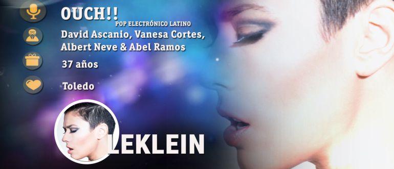 Leklin, cantante polifacética nacida en Toledo: aspirante a representar a España en Eurovisión 2017
