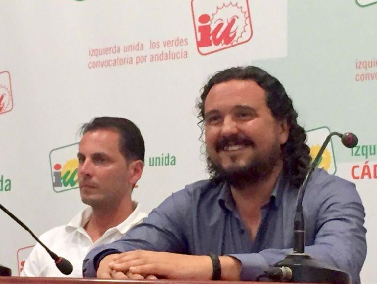 Fernando Macías, Coordinador provincial de IU