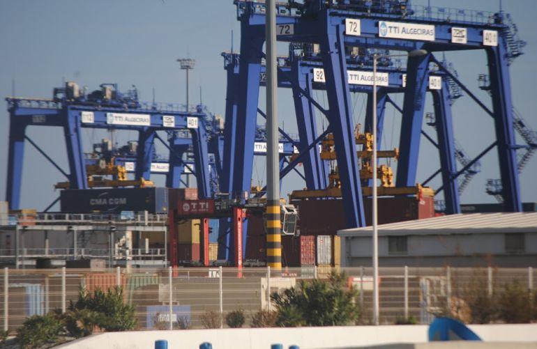 Terminal de TTIA en el puerto de Algeciras