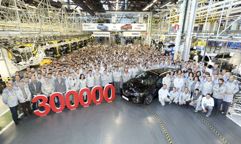Renault bate récord de producción en Palencia