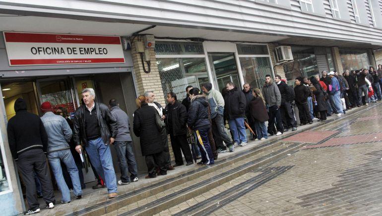 El paro subió en noviembre en Navarra en 220 personas