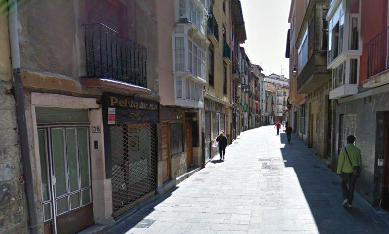 La calle Santo Domingo del Casco Viejo