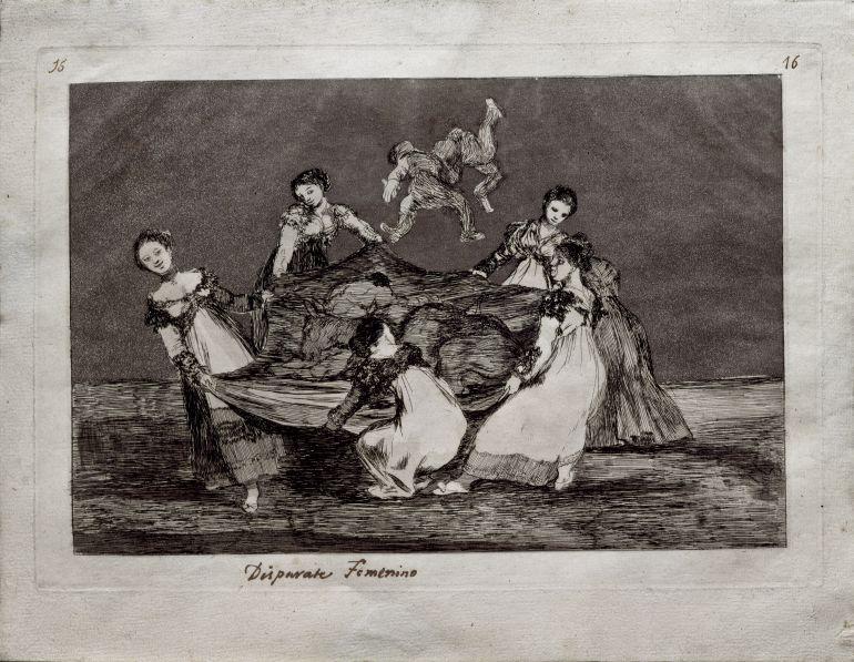 Disparate femenino - Obra Gráfica de Francisco de Goya