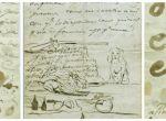 Cartas manuscritas de Goya, propiedad del Museo Lázaro Galdiano