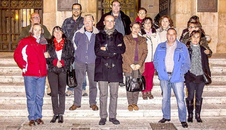 Junta Directiva de la Asociación de Vecinos del Barrio del Cristo