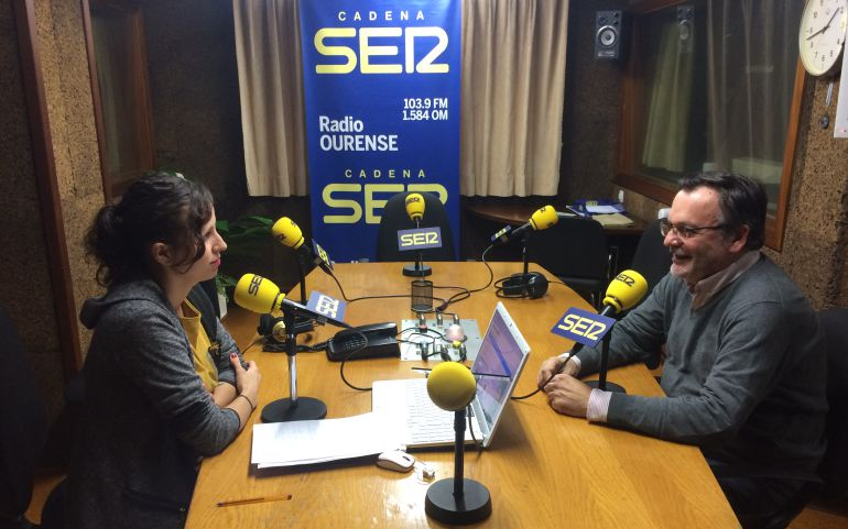 Jose Manuel Trigo con Cristina Carballo