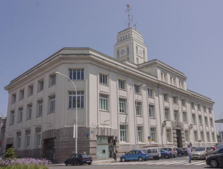 Edificio de Correos en A Coruña.