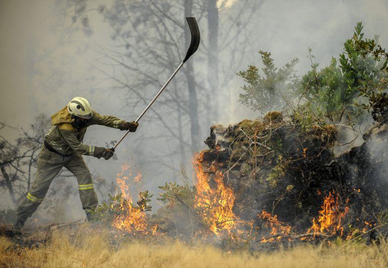 Un dron para prevenir la reproducción de incendios forestales