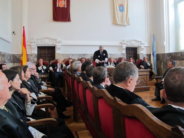 Reunión del Tribunal Superior de Xustiza de Galicia