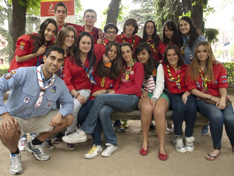 El grupo Scouts Segovia organiza la Luz de Belén
