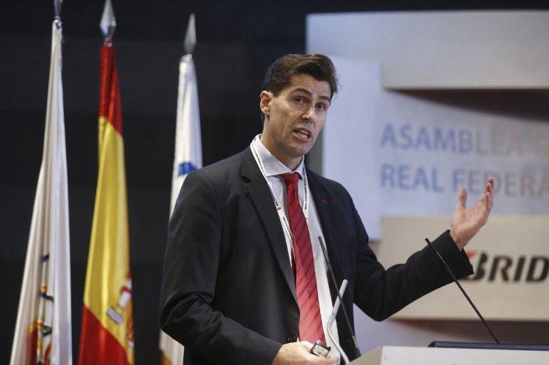 Raúl Chapado ha conseguido un amplio respaldo como presidente de la Real Federación Española de Atletismo