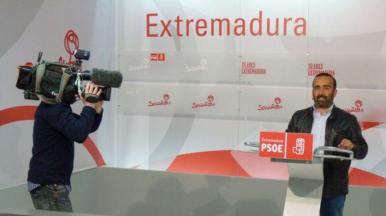 Miguel Ángel Morales, portavoz del PSOE de Extremadura