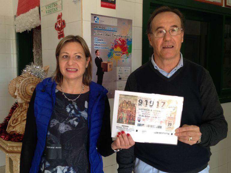 Premio en el IES Severo Ochoa