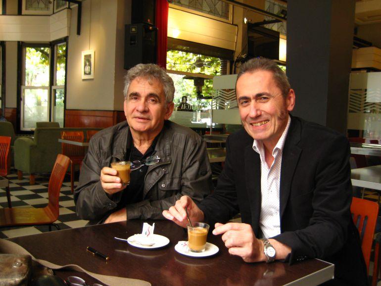 Bernardo Atxaga y Jabier Muguruza