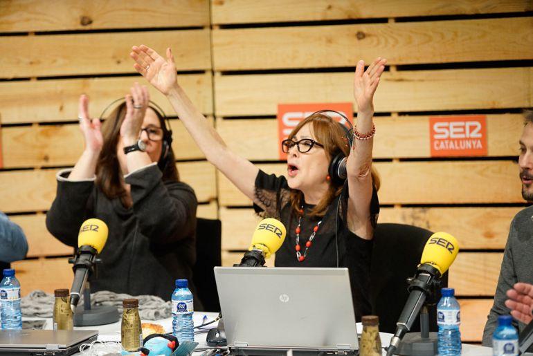 Rosa Badia celebra la superació del rècord de recaptació del Cap Nen Sense Joguina, que estava fixat al 2011 en 30.405 euros