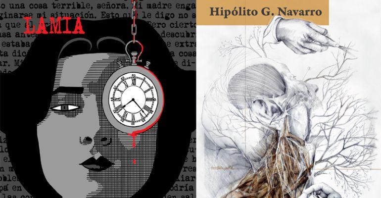"""""""Lamia"""" de Rayco Pulido y """"La vuelta al día"""" de Hipólito G. Navarro"""