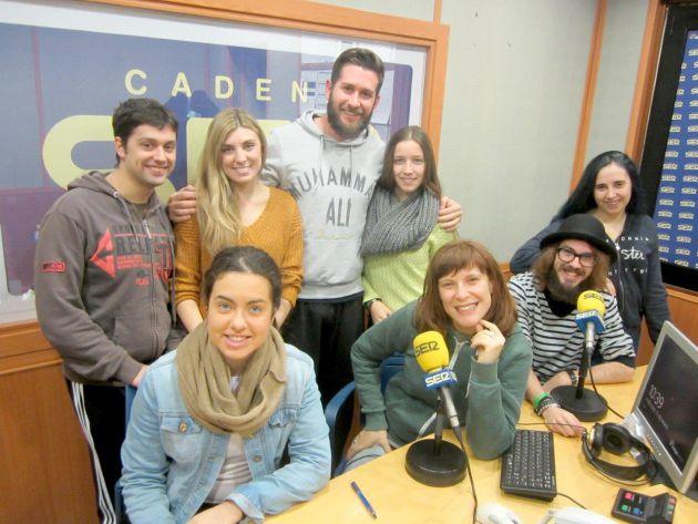 Alumnos de interpretación de la Escuela Superior de Arte Dramático de Córdoba
