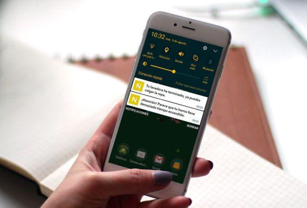 El dispositivo NUbINGS envía alertas al teléfono móvil
