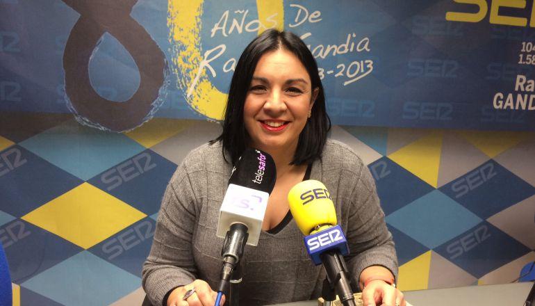 Lorena Milvaques, vicealcaldesa de Gandia y portavoz Més Gandia