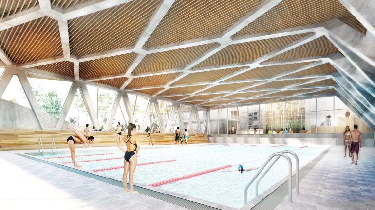 La cebada volver a contar con un centro deportivo y una for Gimnasio piscina madrid