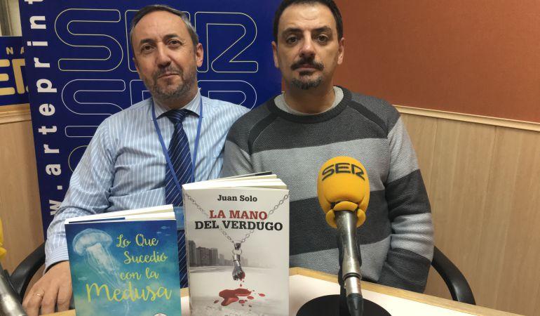 Juan Solo, junto a José Manuel Contreras