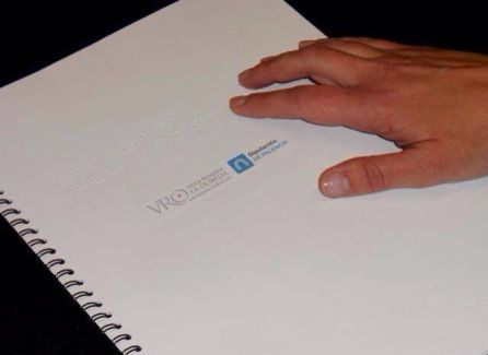 Folleto en Braille